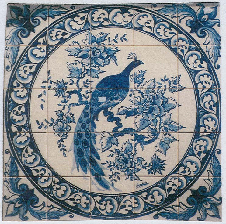 Tile Murals - Florals and Birds